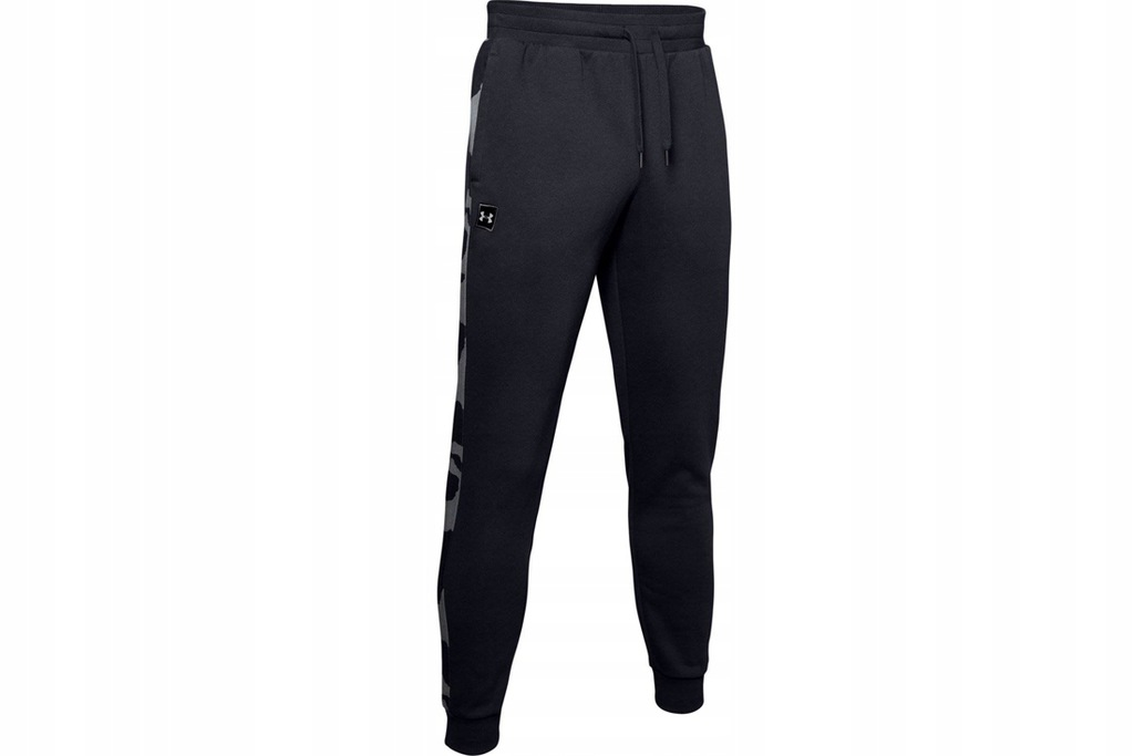 UNDER ARMOUR RIVAL FLEECE PRIN (S) Męskie Spodnie