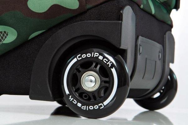 CoolPack A28110 Junior Camo Green 24L Kółka+GRATIS