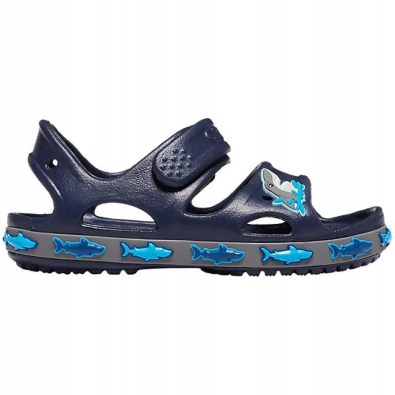 Sandały Crocs Crocs FL Shark Band Sandal B Jr 2063