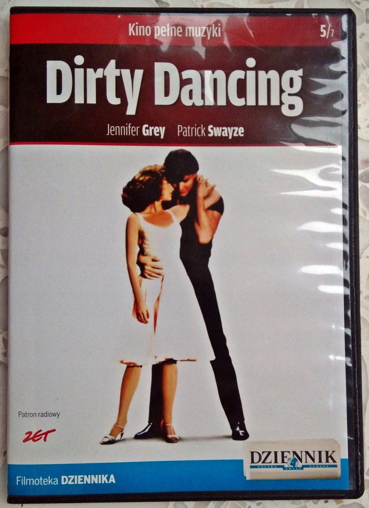 FILM DVD DIRTY DANCING Kino pełne muzyki tom 5/7