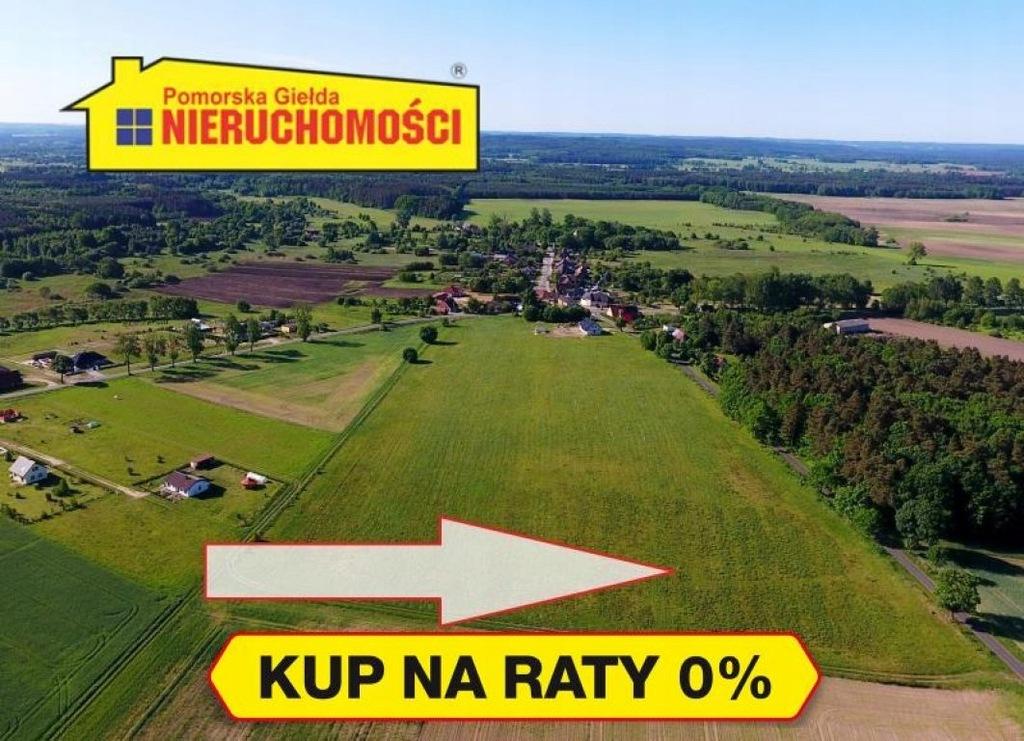 Działka Tychowo, białogardzki, 5153,00 m²