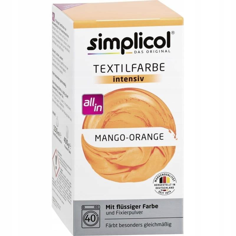 Mango-Pomarańcza barwnik do tkanin Simplicol