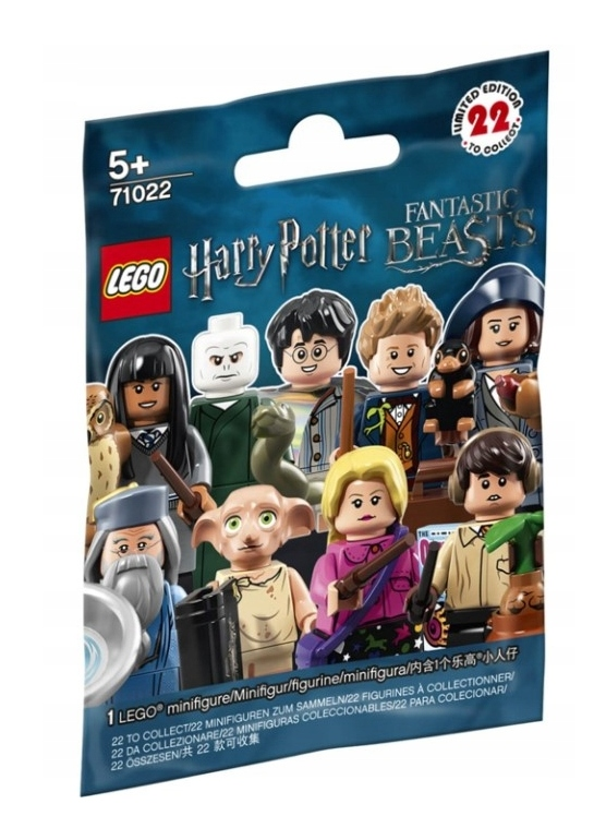 LEGO 71022 MINIFIGURKI HARRY POTTER MINIFIGURES