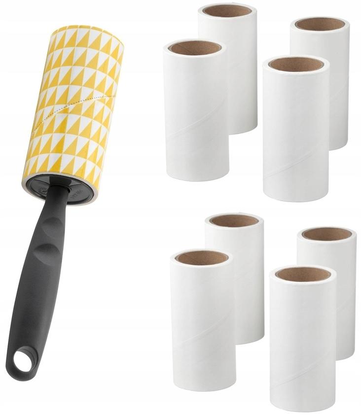 IKEA BASTIS * Wałek czyszczący / rolka + 8 x wkład