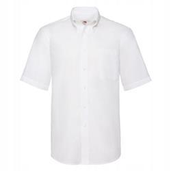 MĘSKA koszulka SHORT OXFORD FRUIT biały L