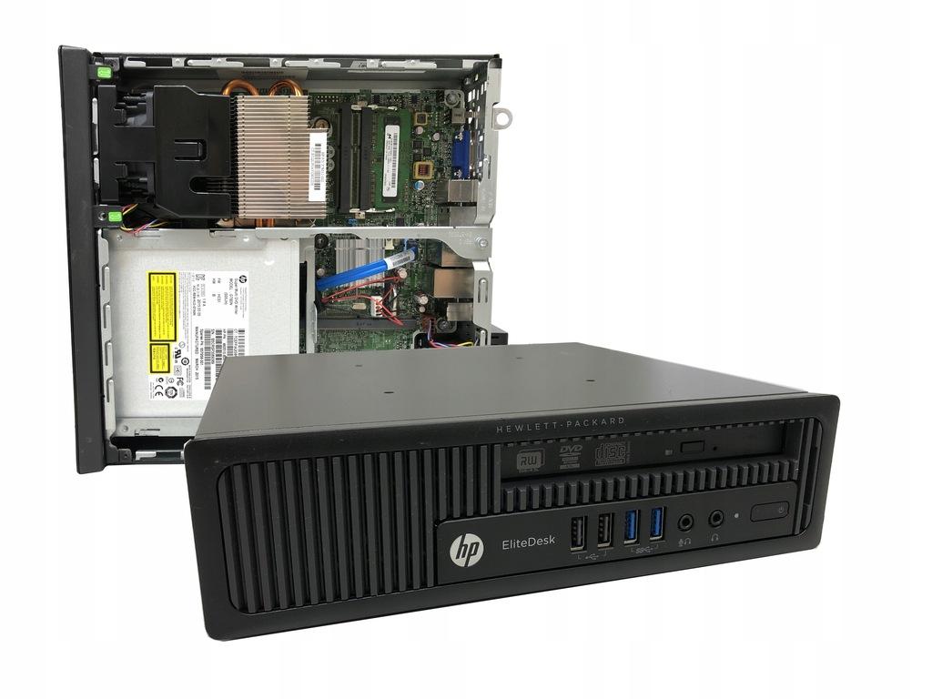 KOMPUTER PC HP ELITEDESK 800 G1 USDT 240SSD I5 8GB