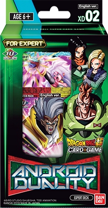 Dragon Ball SCG: XD02 Expert Deck Android Duality