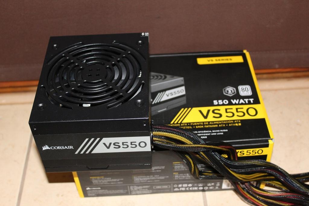 Corsair VS 550W Builder komputronik gwarancja
