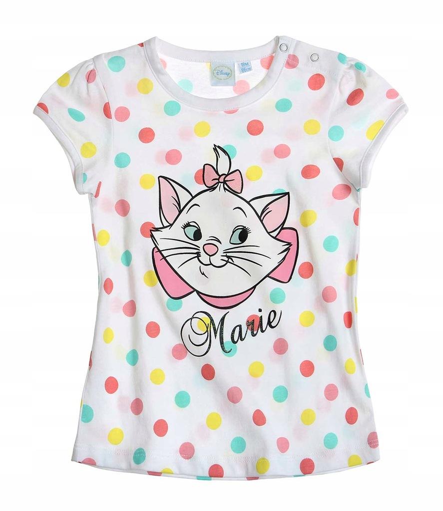 Marie Arystokraci 62 koszulka t-shirt grochy kotka