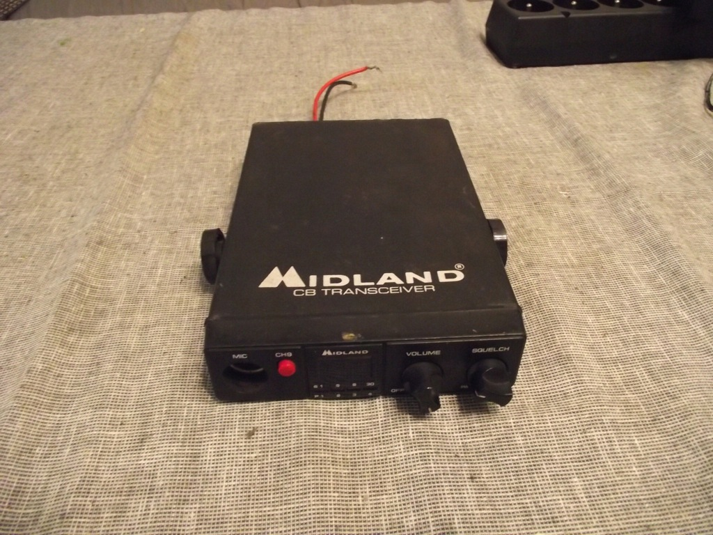MIDLAND ALAN 106 CB RADIO DO NAPRAWY