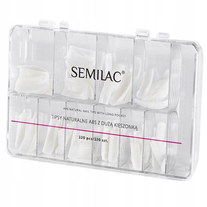 SEMILAC - TIPSY NATURALNE ABS - 120 SZT.