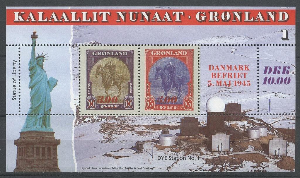 Grenlandia ** Mi. Blok 6