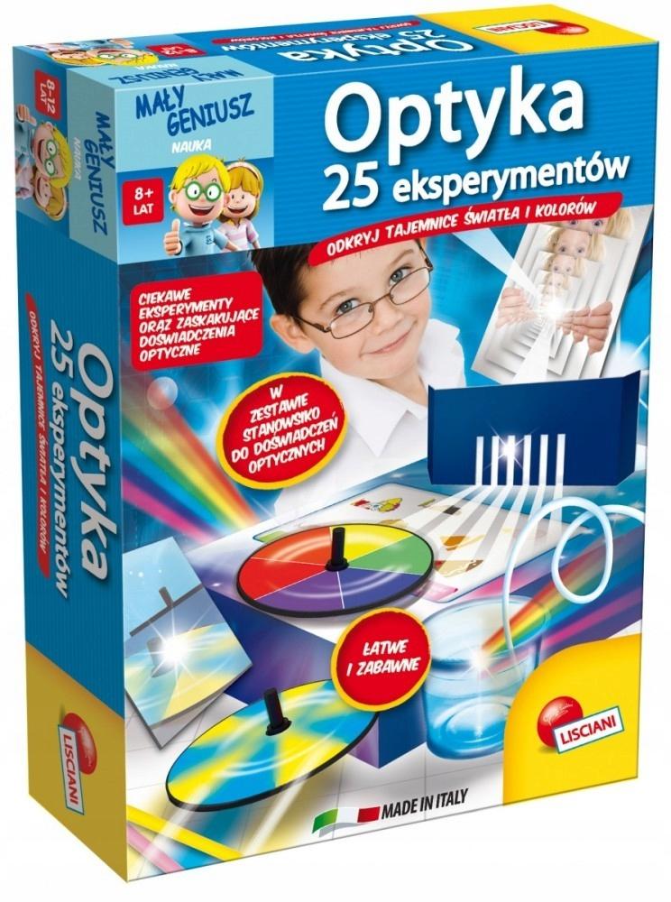 Mały Geniusz OPTYKA 25 Eksperymentów 304-P50826