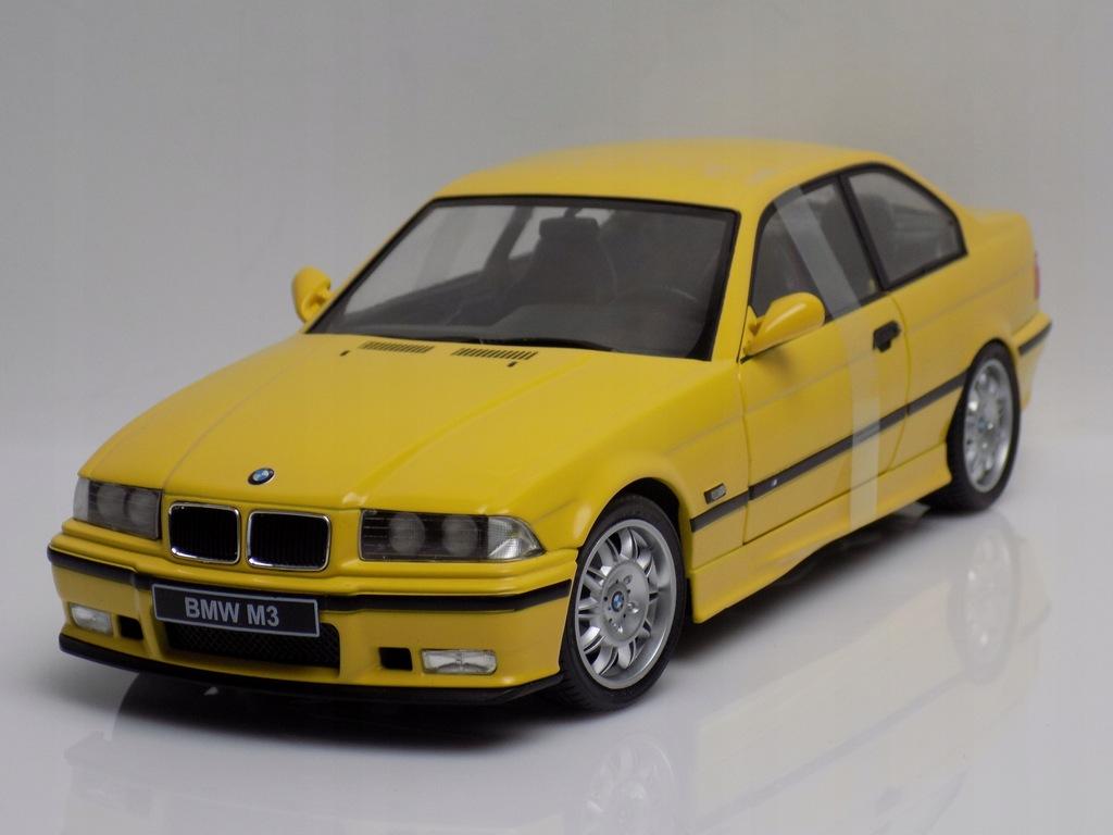 Model Samochodu Bmw E36 Coupe M3 1996 Solido 1 18 9204728654 Oficjalne Archiwum Allegro