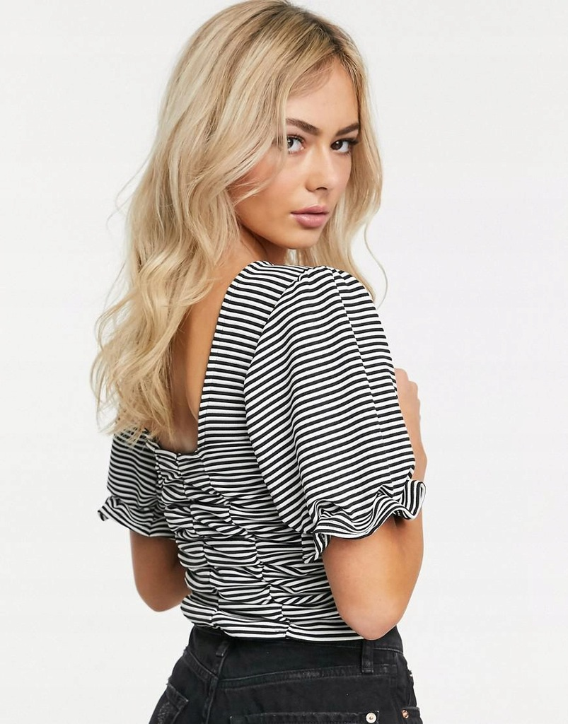 MDF311 ANOTHER CROP TOP W PASKI 36 Reason S