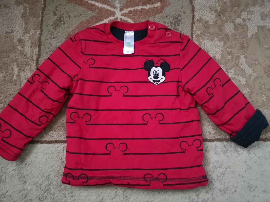 ciepła bluza Mickey C&A rozmiar 80