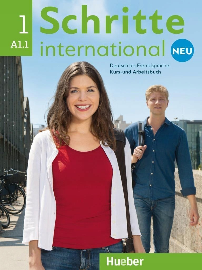 SCHRITTE INTERNATIONAL NEU 1 KB+AB+CD PL HUEBER