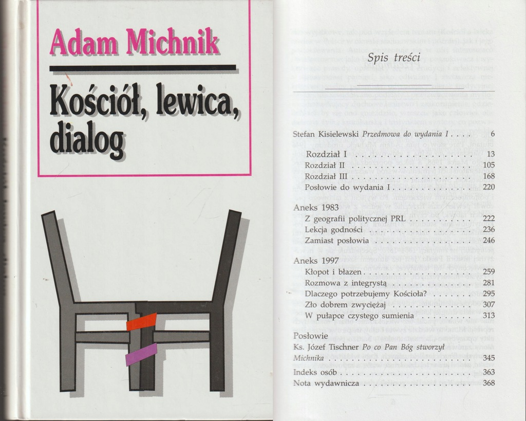 KOŚCIÓŁ, LEWICA, DIALOG Adam Michnik