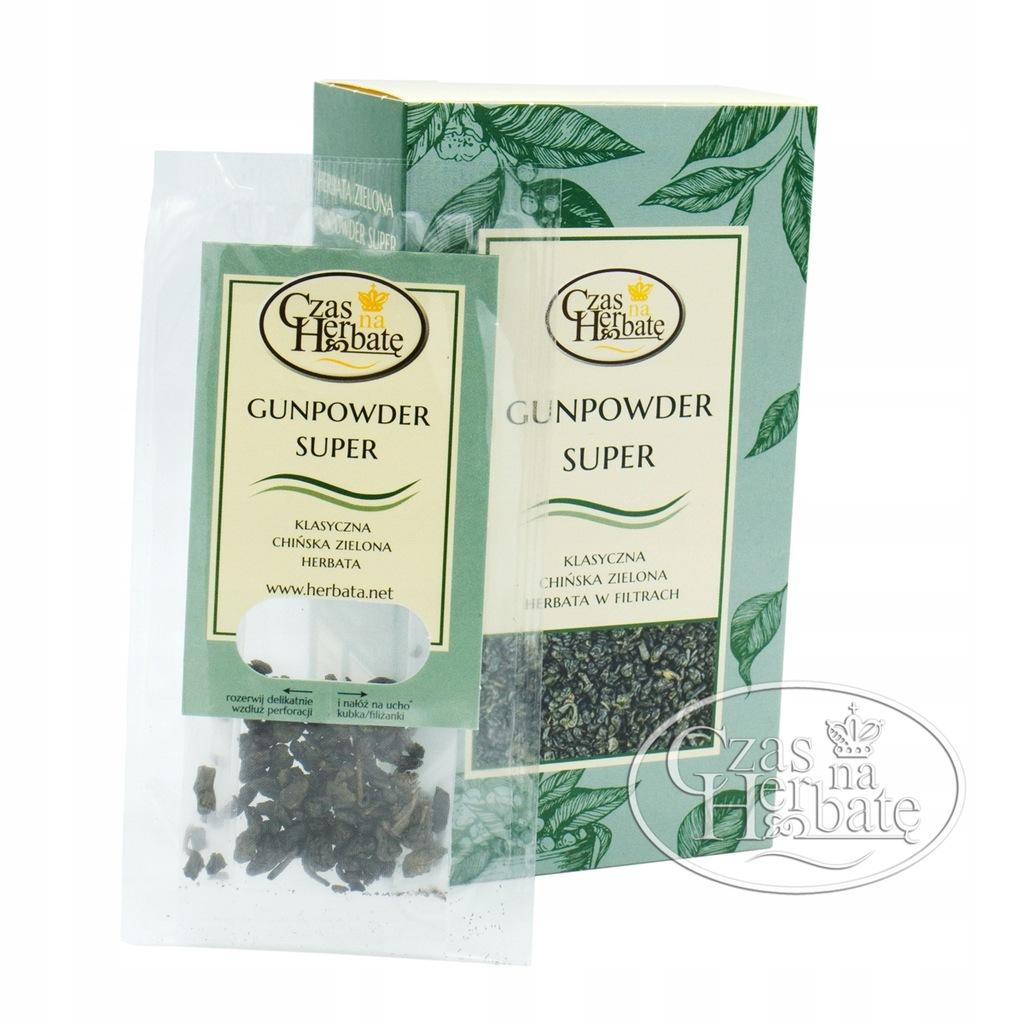 Czas na Herbatę Zielona Box Gunpowder super 10x2g