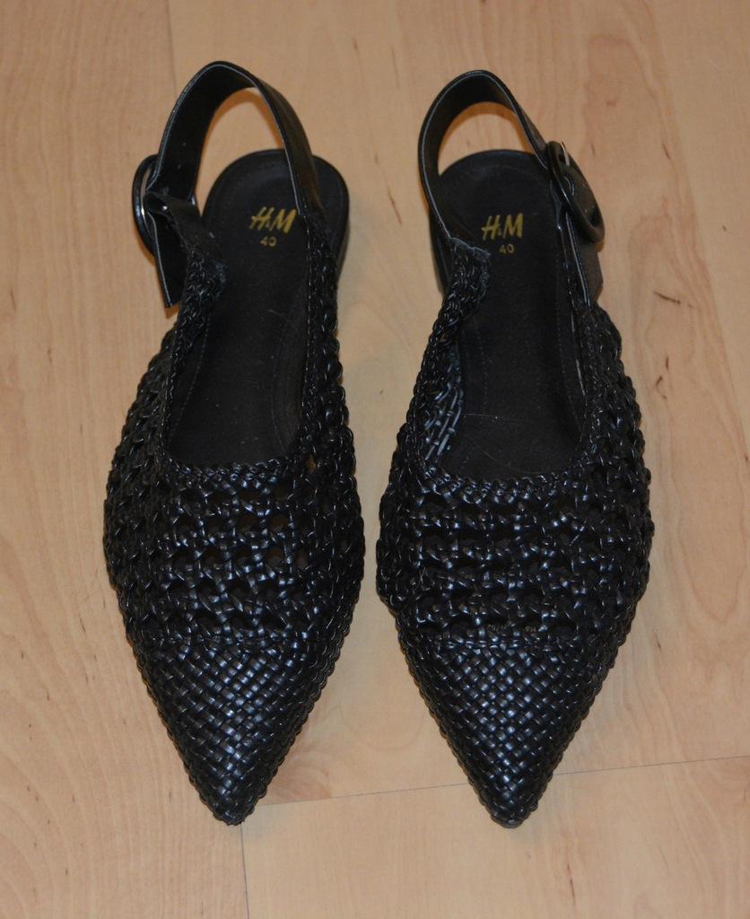 Buty półbuty czółenka sandały j.nowe H&M 40
