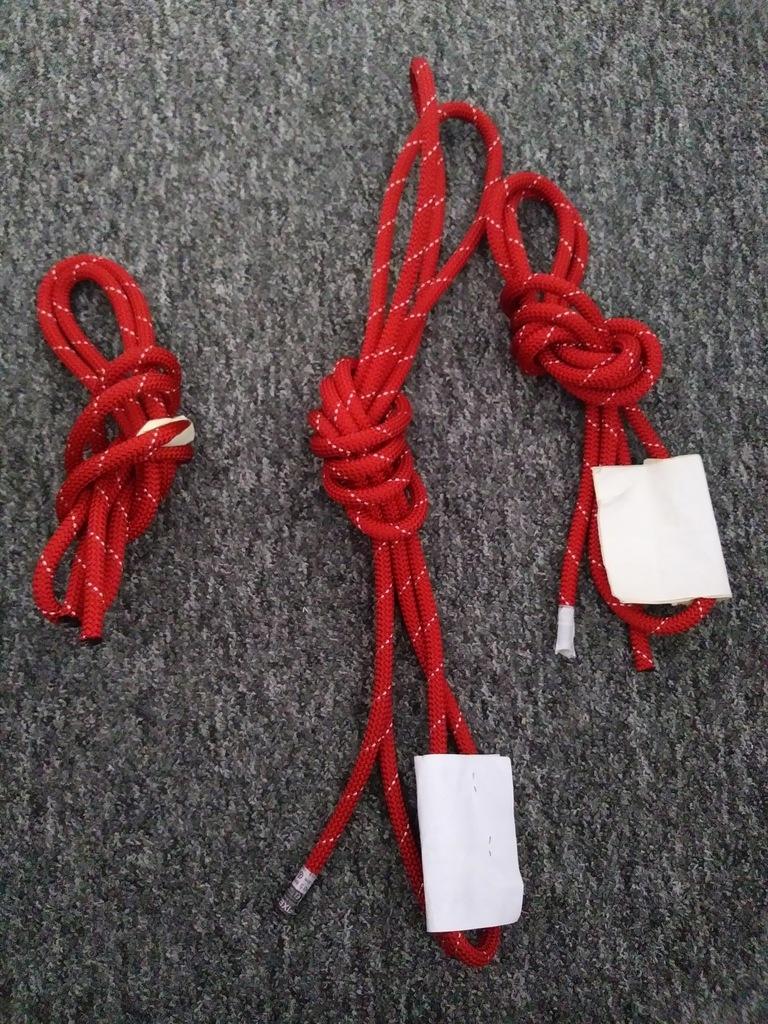 Lina Roca Ranger 10,5 mm czerwona odcinki