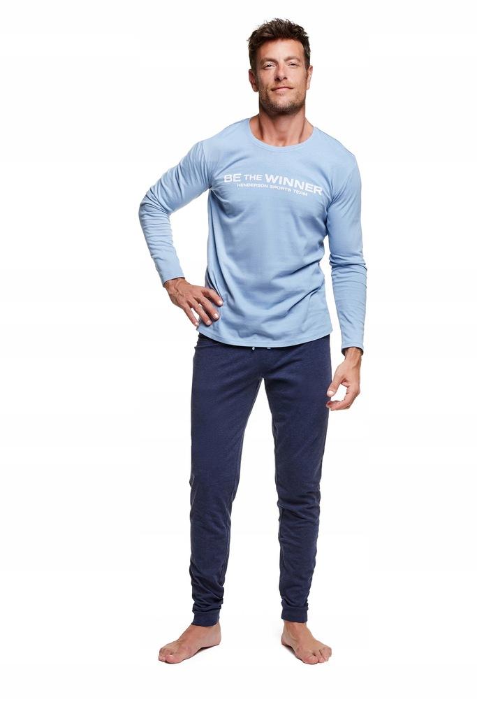 Piżama Wise 37310-50X Niebiesko-granatowa Rozmiar
