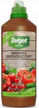 Target Nawóz Eko płyn do pomidorów ogórków ziół 1l