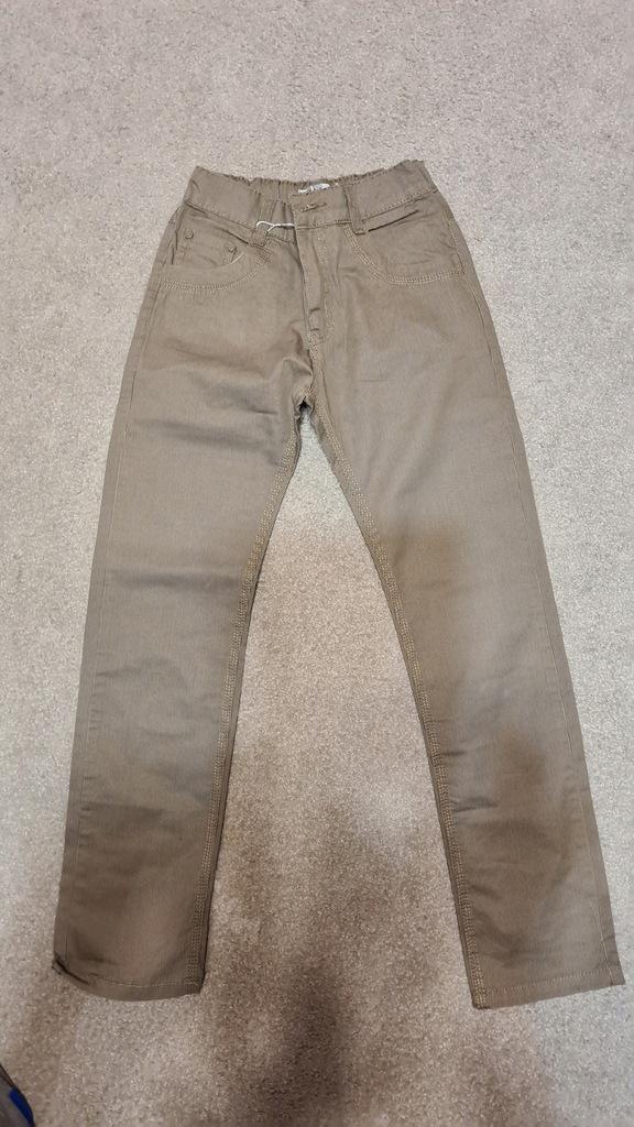 nowe spodnie roz. 152 sportowo-wizytowe