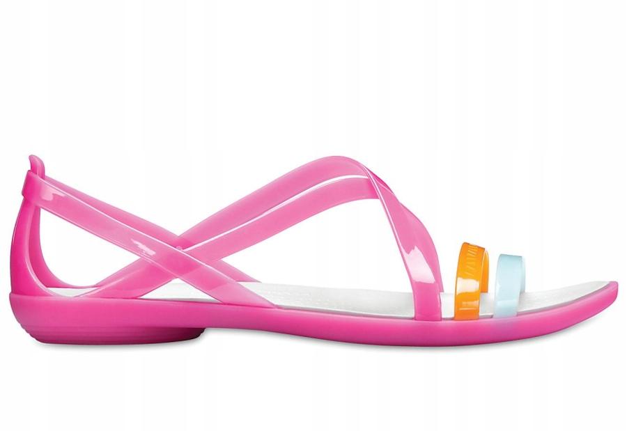Sandały CROCS Isabella Cut Strappy Pink W6 36-37