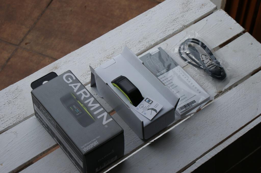 GARMIN VivoSport GPS Smartband Monitor Aktywności
