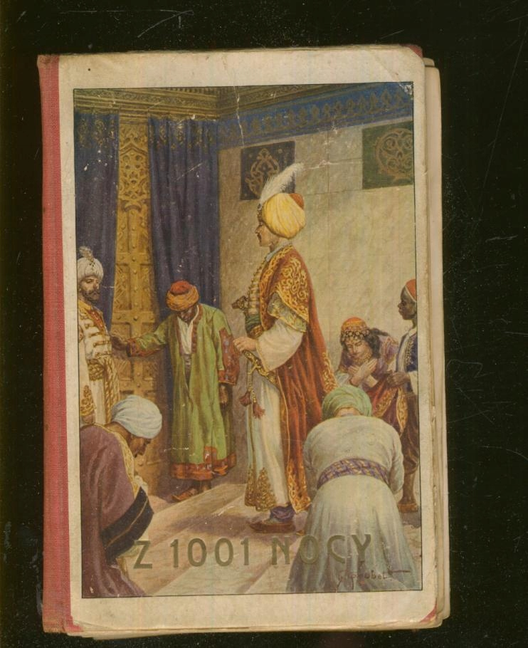 Powieści z 1001 nocy dla młodzieży; 1925; destrukt