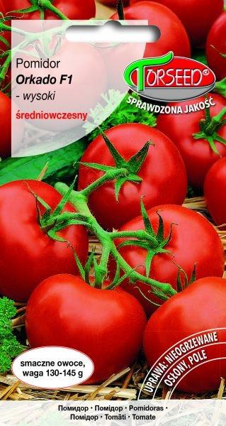 Pomidor gr. Orkado F1 0.1g wysoki śr. wczesny
