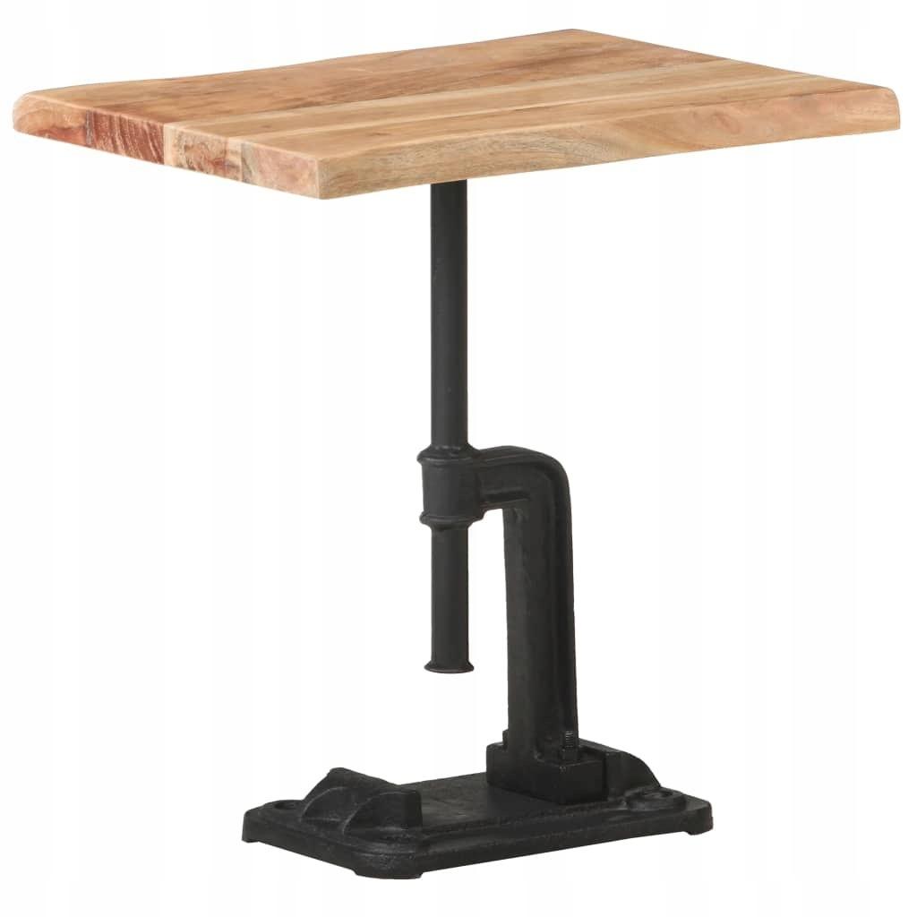VidaXL Stolik boczny, 45x35x48 cm, jasne drewno ak