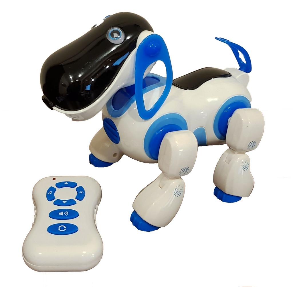 Interaktywny Piesek Knabo Sterowany Robot Pies Lux 7046611301 Oficjalne Archiwum Allegro