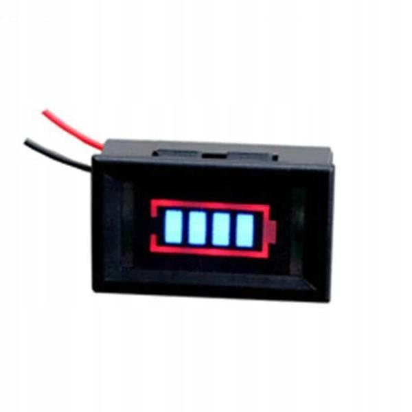 12V Wskaźnik naładowania akumulatora 4S