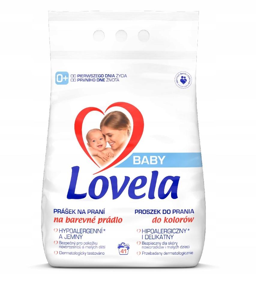 LOVELA Baby Proszek do Prania Kolor 4,1kg