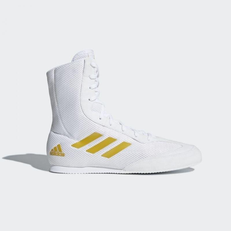 Buty bokserskie adidas Box Hog Plus białe