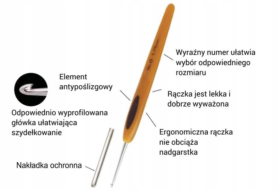 SZYDEŁKO CLOVER SOFT TOUCH ROZMIAR 1,0 mm
