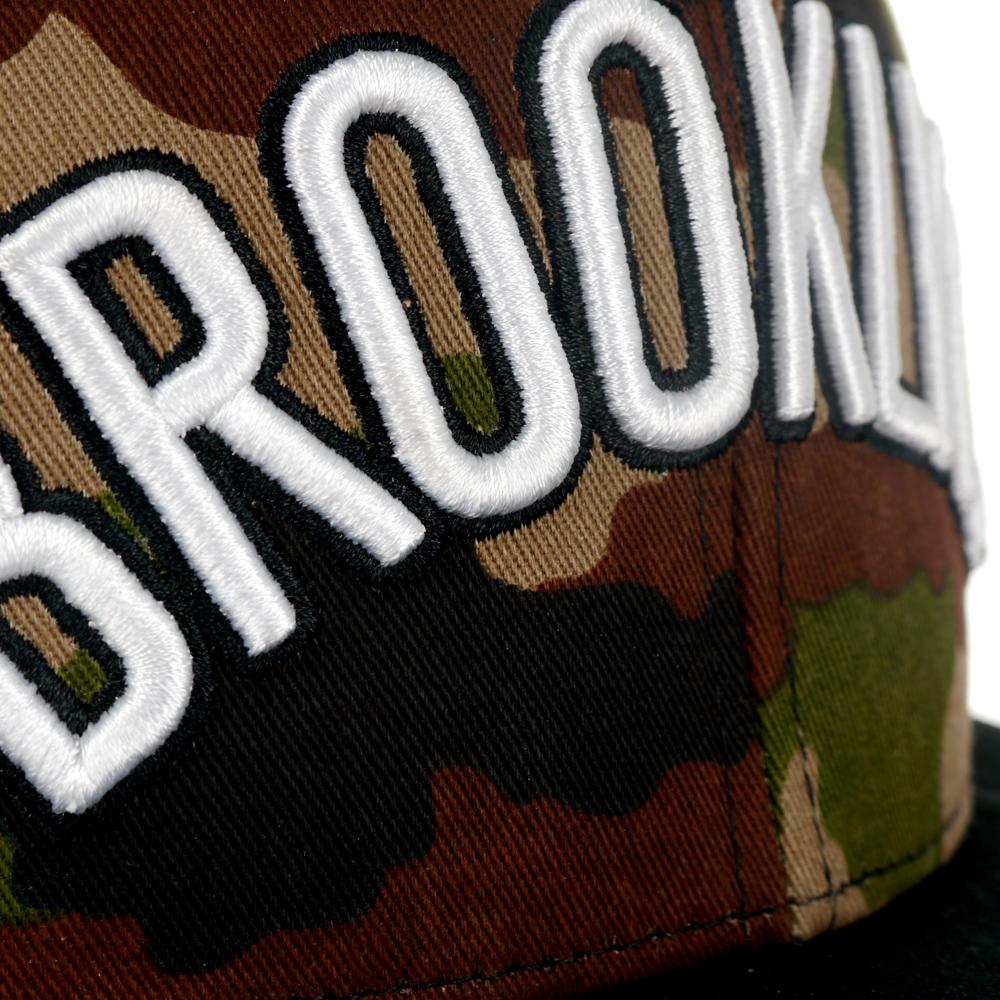 Czapka z daszkiem Adidas NBA AY9396 snapback moro