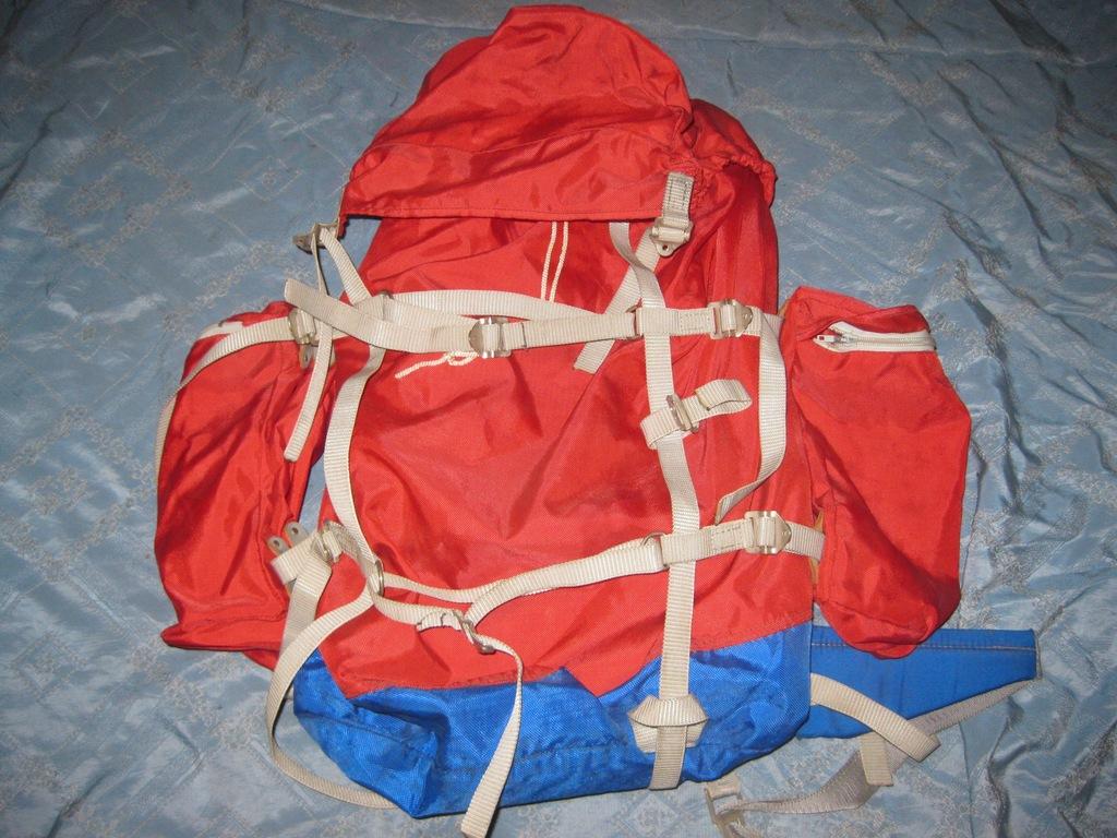 Plecak turystyczny DDR 30-40 L,stelaż 50 X 27 cm