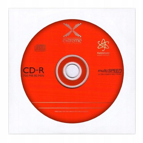 2147 CD-R - koperta 1 sztuka Extreme