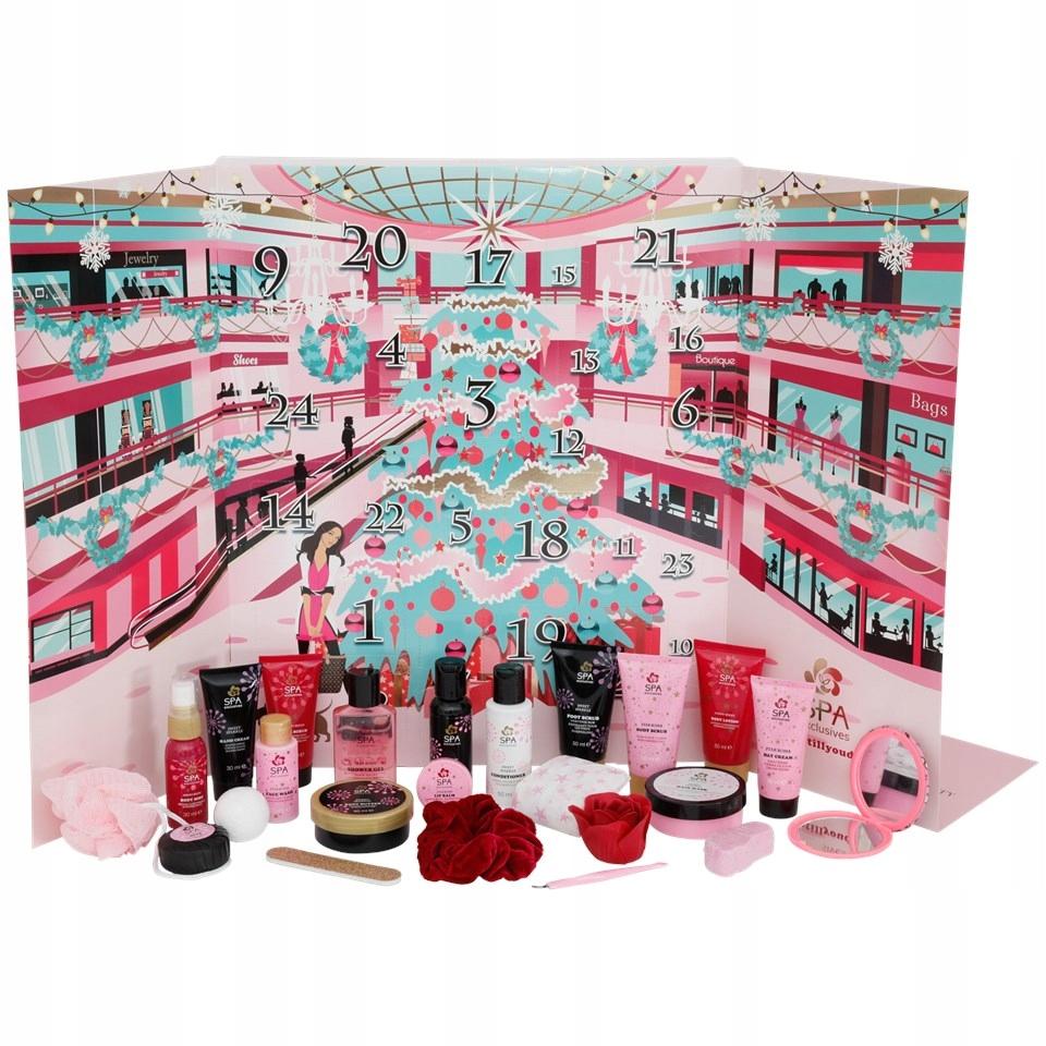 Kosmetyczny Kalendarz Adwentowy Spa Exclusive 2020 9654619944 Oficjalne Archiwum Allegro