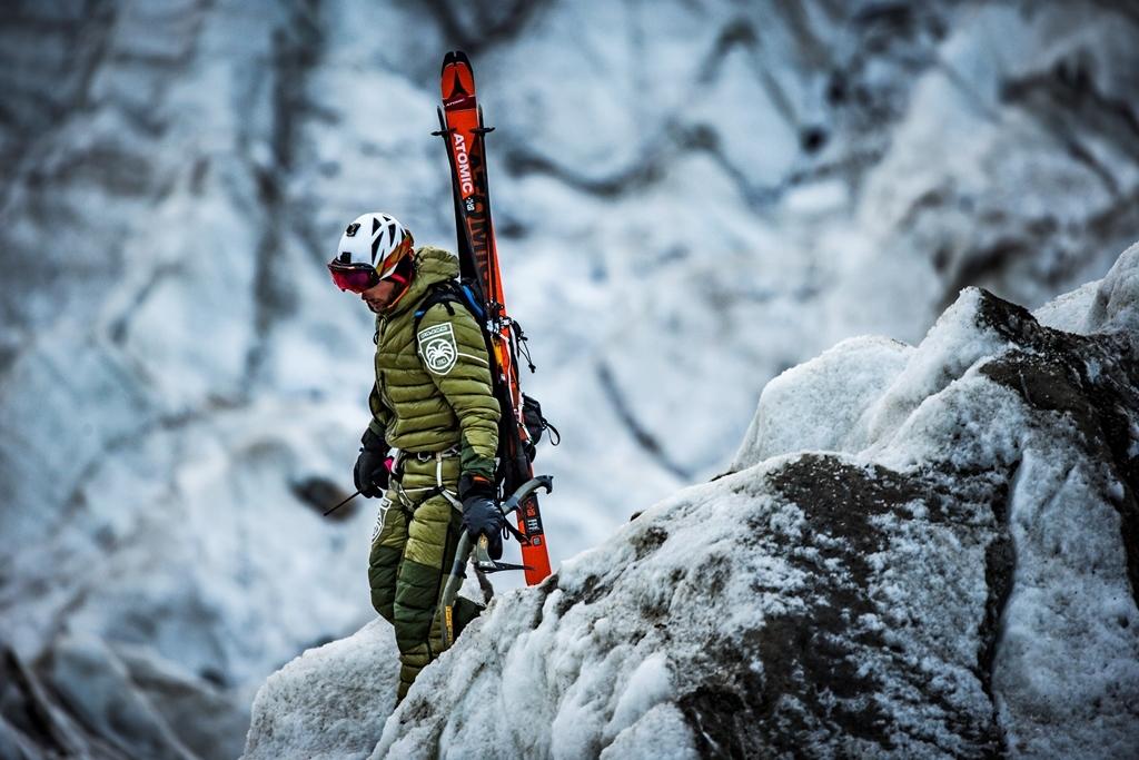 Czekan A. Bargiela z wyprawy po Śnieżną Panterę