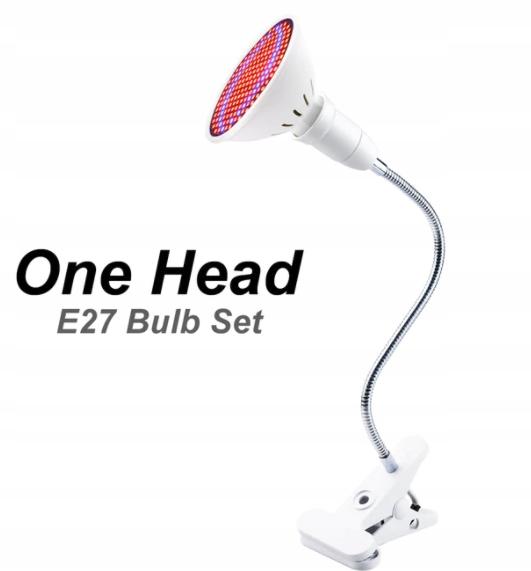 LAMPA DO UPRAWY ROŚLIN GROW LIGHT 200 SZT LED 20W
