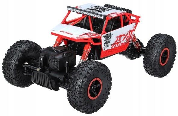 Rock Crawler 4WD 1:18 - Czerwony