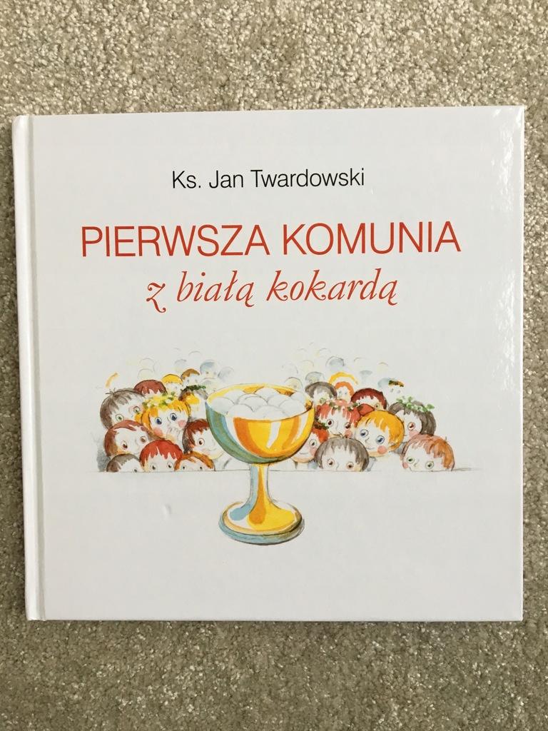 2 Książki Pierwsza Komunia Wiersze Ks Twardowski
