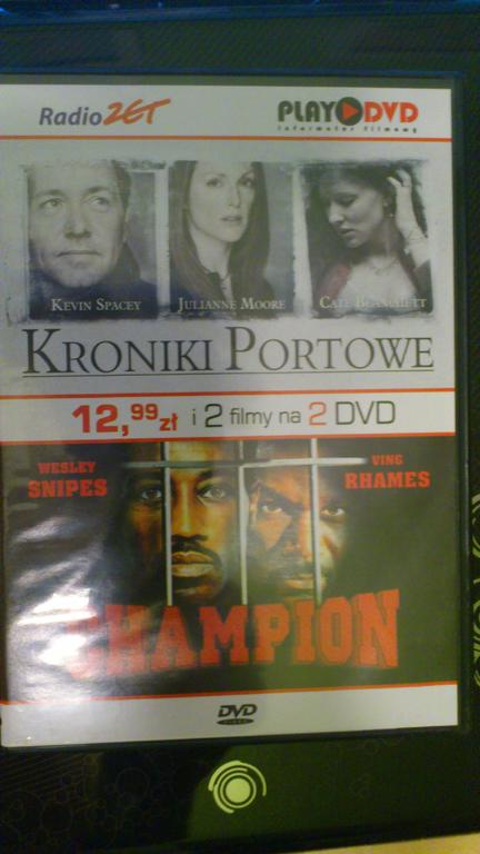 """Kroniki portowe"" i ""Champion"""