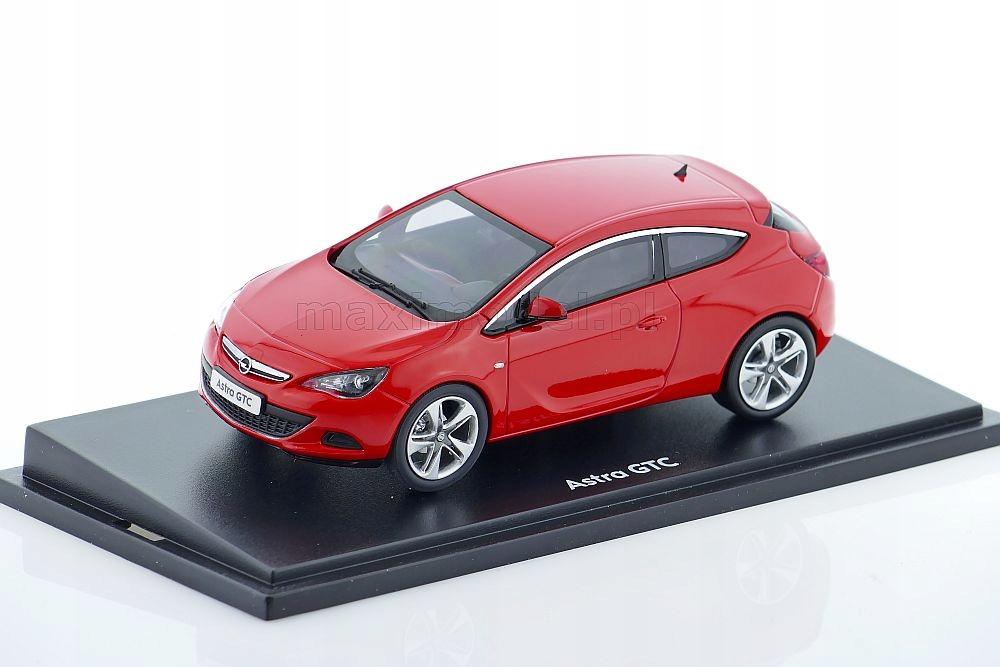 Opel Astra J Gtc Red 1 43 Motorart 7809505133 Oficjalne Archiwum Allegro