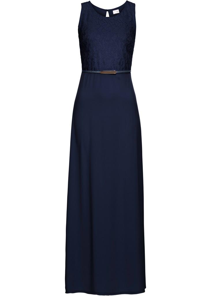 D439 BPC Sukienka wieczorowa z paskiem 38