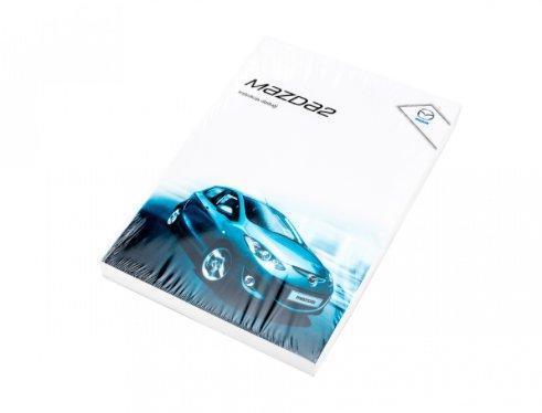 Mazda 2 (DE) Facelift instrukcja obsługi - NOWA!